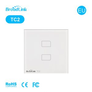 BroadLink TC2 2 Gang Smart Switch