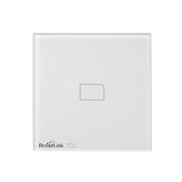 BroadLink TC2 UK standard 1Gang Smart Home Wifi light switch single touch button dimmable timer light switch
