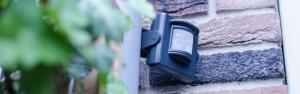 PIR-2050 IP44 Splash proof wireless outdoor motion sensor.