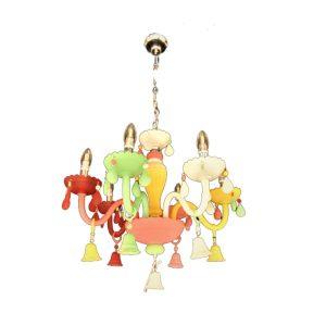Decorative multicolor Pendant light