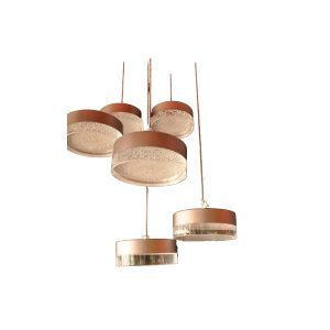LED Decorative Pendant Light With 6 Strings