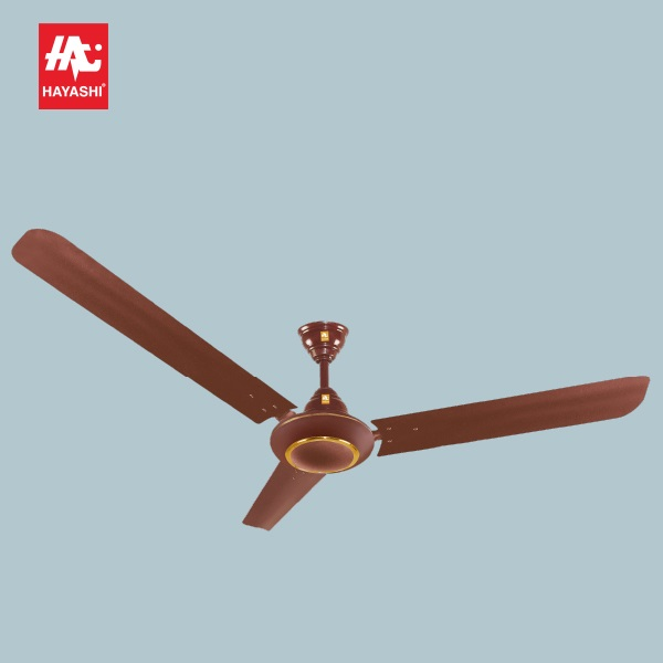 Hayashi Ceiling Fan brown color