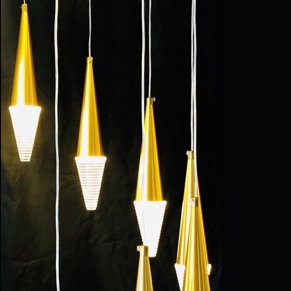 Modern Decorative LED Chandelier Long
