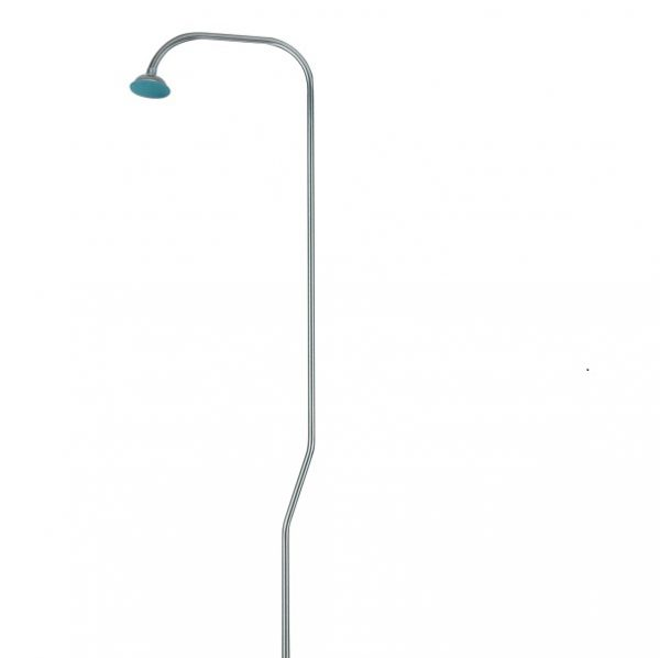 Overhead shower with tube