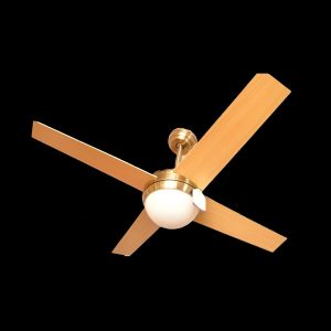 Antique brass Finish LED Decorative Ceiling Fan