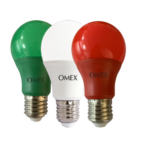 Omex LED Lamp A60 Multi Color Bulbs