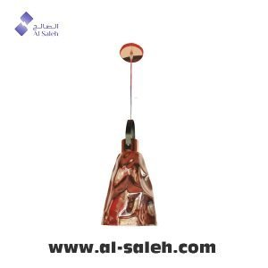 Modern LED Pendant Light Rose Gold Glass