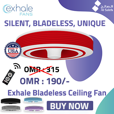 EXHALE BLADELESS FAN