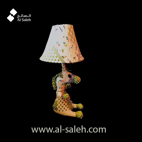 Fabric Animal Table Lamp