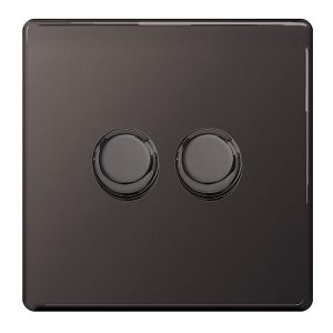 Decorative Dimmer Switches 2 Gang – BG
