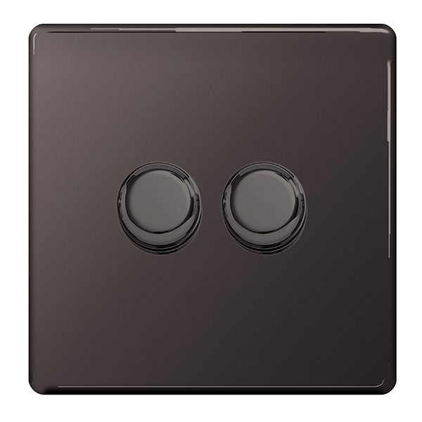 2 Gang 2 way Dimmer Switch