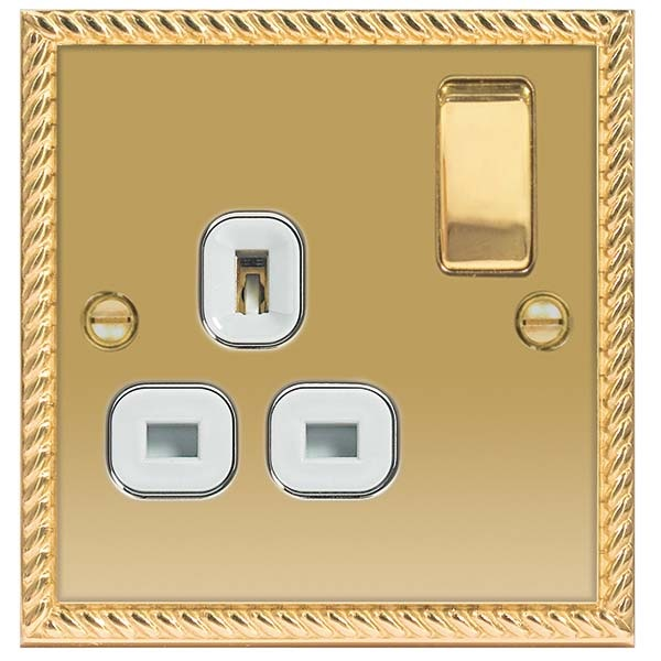 13A DP SINGLE SWITCH SOCKET