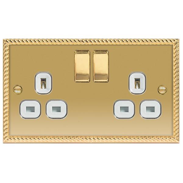 13A Double Socket Switch