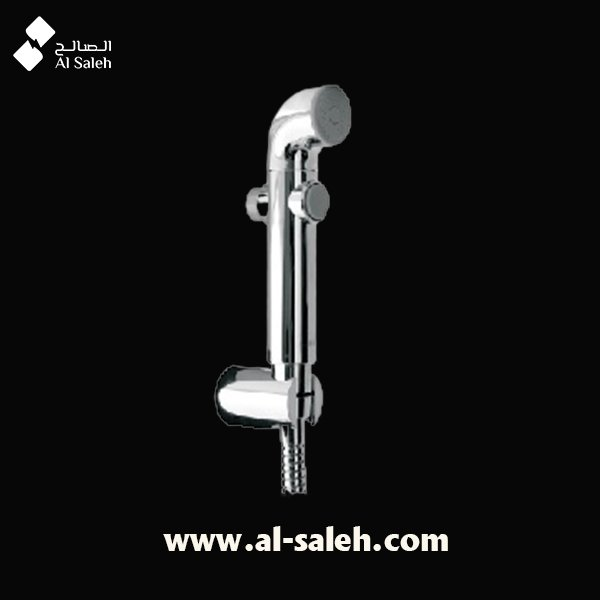 Health faucet with 1 mtr long PVC tube and wall hook