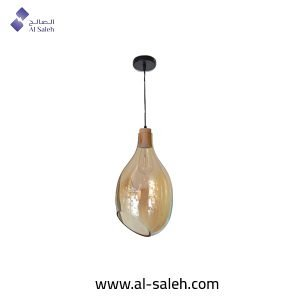 Simple Post-Modern Glass Pendant Light