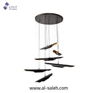 Decorative Pendant Light With 6 Strings